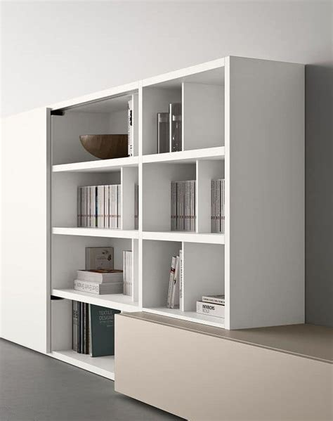 modern modular bookcase modular bookcase with shelves and box containers idfdesign