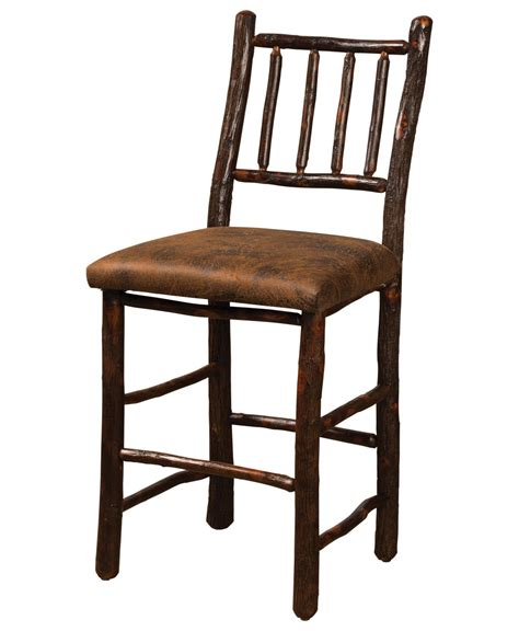 American Made Bar Stools by Early American Bar Stool Amish Direct Furniture