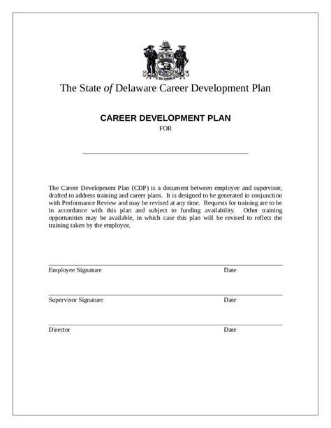 five year career development plan template write happy ending