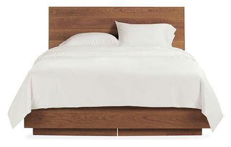 room and board headboards hudson storage bed room board