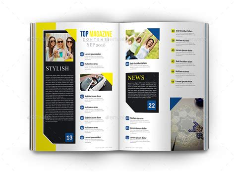 top magazine template 40 pages by owpictures graphicriver