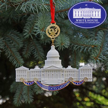 2017 us capitol marble ornament