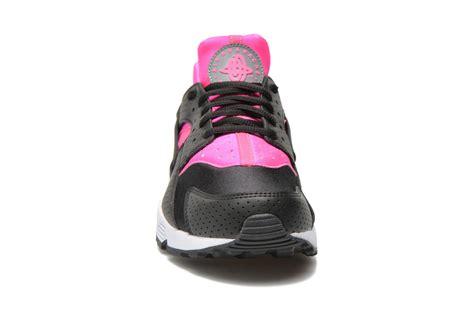 Damen Turnschuhe Nike 2173 by Nike Air Huarache Schwarz Pink Rebelscots De