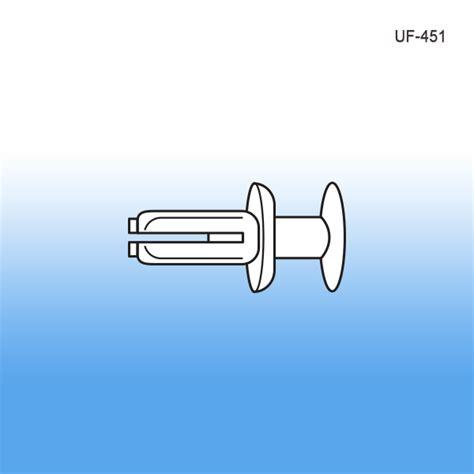 Shelf Fasteners by Universal Steel Shelf Fastener Metal Retail Display