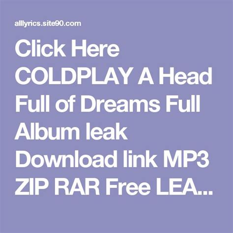 download mp3 coldplay a head full of dreams best 25 coldplay album download ideas on pinterest