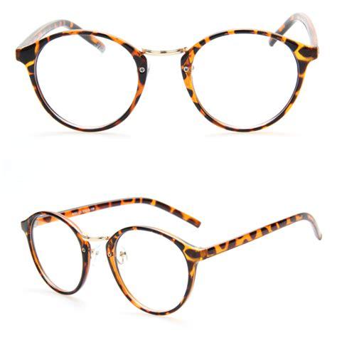 fashion cateye style glasses frame multi color