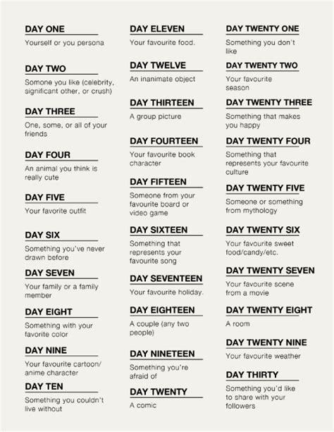 100 themes drawing challenge list molotov cocktail