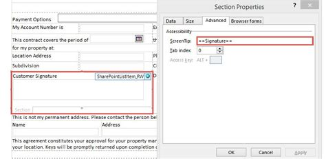 infopath section using the signature pad jquery plugin with sharepoint