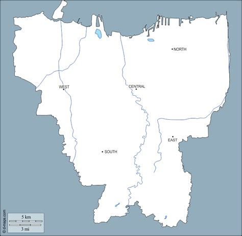 jakarta  map  blank map  outline map