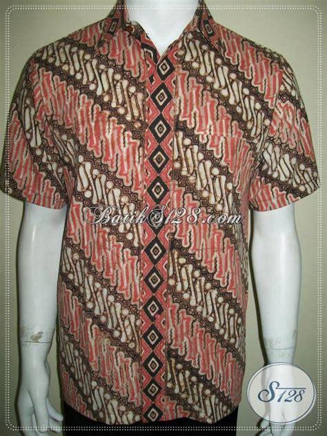 Hem Kemeja Batik Eklusif Pari kemeja batik parang elegan hem pria eksklusif ld609ct m