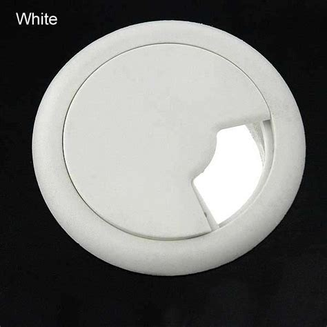 Desk Grommet White by Plastic Desk Grommets Desktop Cable Pass Throughs