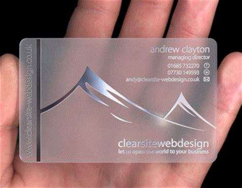 Make Plastic Business Cards plastic business cards make your business card stand out