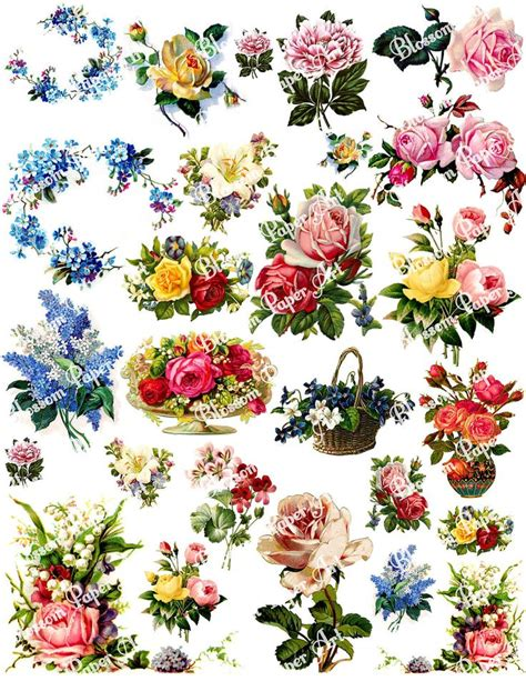 decoupage images free 6 best images of vintage flowers decoupage printable