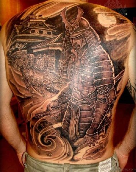 samurai warrior tattoo 53 top japanese tattoos for back