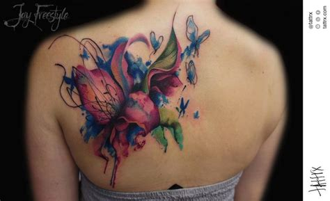 jay freestyle lily tattoo google search floral tatto