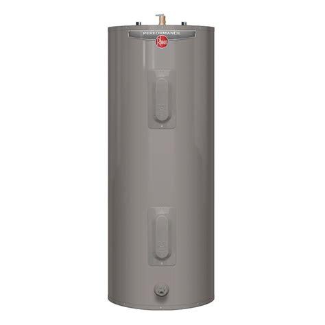 Rheem Performance 30 Gal. Tall 6 Year 3800/3800 Watt Elements Electric Tank Water Heater