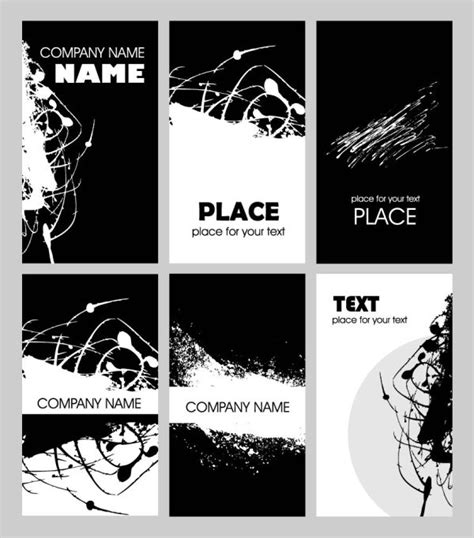 weiss schwarz card template schwarz wei 223 rost karte vorlage vektor material 2 free