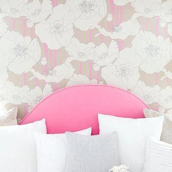 hot pink headboard daybed headboard contemporary girl s room maria barros