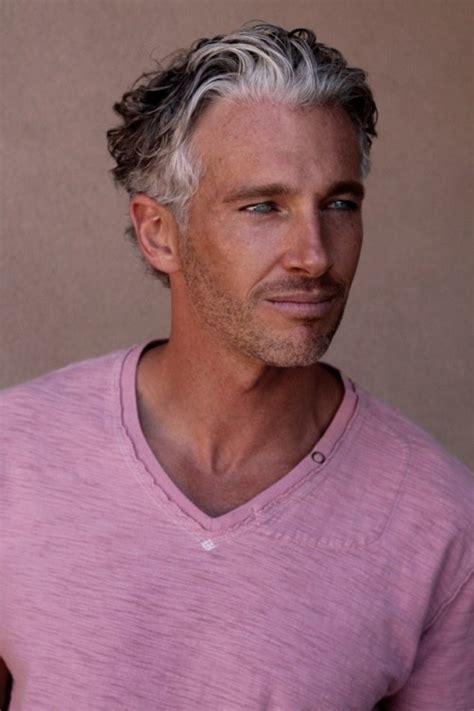 Good Looking Gray Haired Men | italian men on tumblr