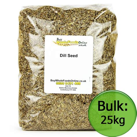 seed bulk dill seed 25kg bulk buy whole foods