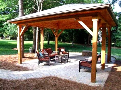 backyard pavilions how to build backyard pavilion plans pdf plans