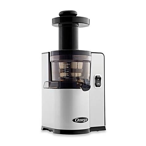 bed bath and beyond juicer buy omega 174 vsj843q low speed juicer in silver from bed