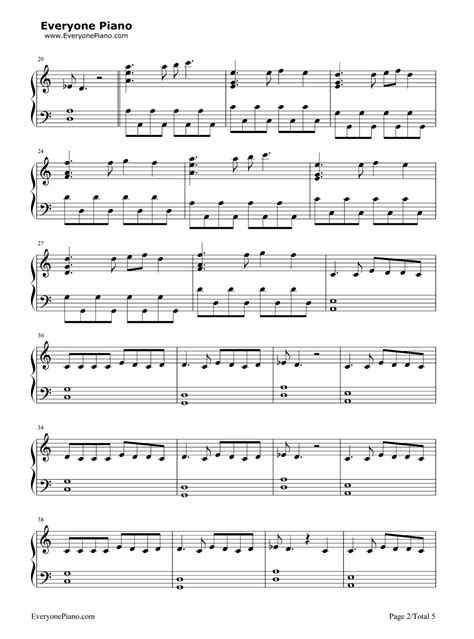 tutorial piano prayer in c prayer in c lilly wood and the prick stave preview 2 free