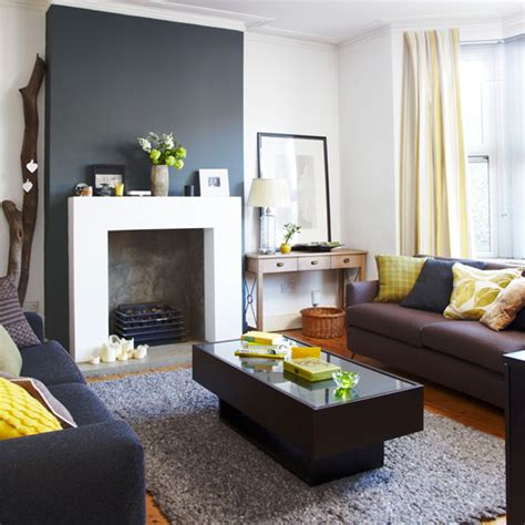 black grey and yellow living room how to decorate with yellow ideal home