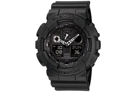 G Shock Protection 1 casio g shock protection classic in black ga100 1a1
