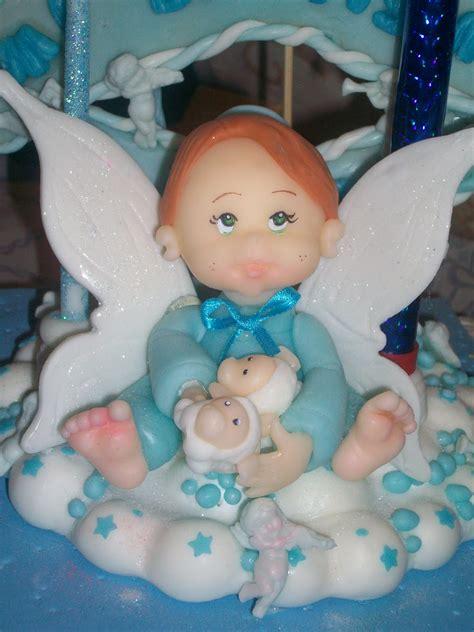 adorno de bautismo creaciones quot mgd quot el mundo del modelado adorno de torta de