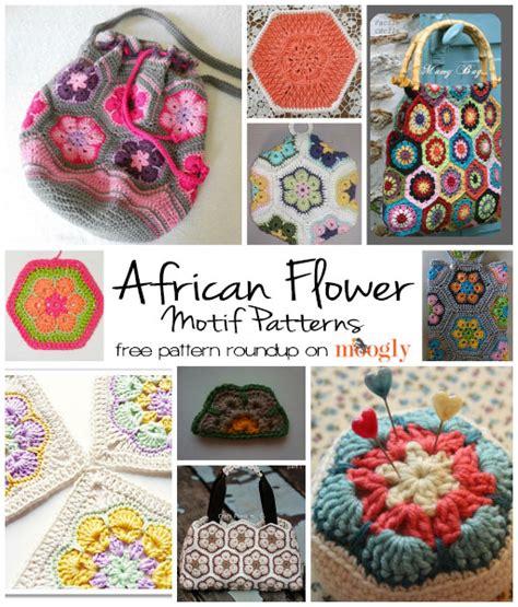 10 Fun Free African Flower Motif Patterns Moogly | 10 fun free african flower motif patterns moogly