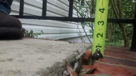 how to fix a sinking front porch cantey foundation specialists concrete lifting and