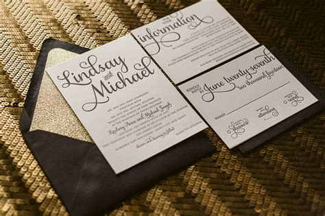 Black Wedding Invitations by Black And Gold Wedding Invitations Gangcraft Net