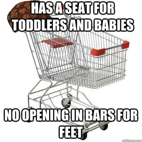 Shopping Cart Meme - baby foot memes