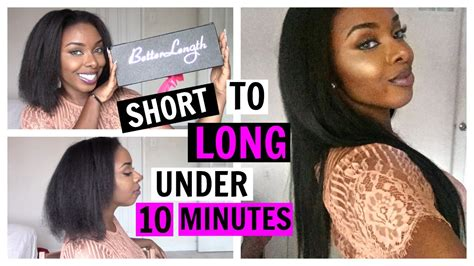 what type of hair is better for the vixen sew in short to long hair in under 10 minutes type 4 natural