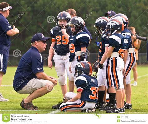 little league football players coaching little league football editorial image image