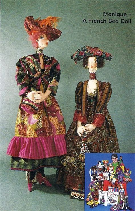 pattern for art doll new cloth art doll pattern quot monique quot by elinor peace bailey