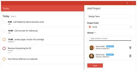todoist project templates catching up with todoist for windows 10