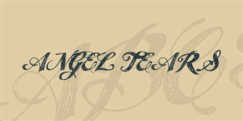 tattoo font angel tears 55 best free tattoo fonts collection 2018