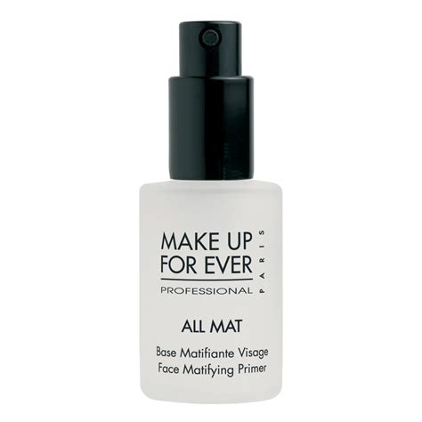 Makeup Forever All Mat Primer chronicles best primers for acne prone sensitive skins