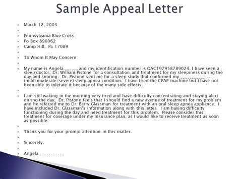 Dental Insurance Appeal Letters Insurance For The Dental Office Ppt