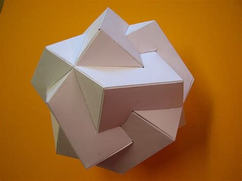 Mathematical Origami - psychedelic math makes for some trippy origami