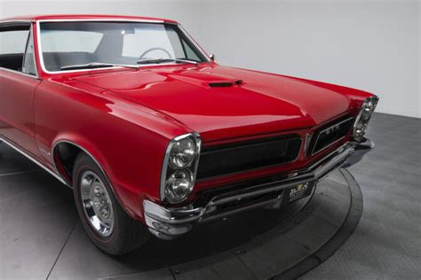 old car manuals online 1965 pontiac gto parking system 1965 pontiac gto 1918 miles torch red hardtop 421 v8 4 speed manual for sale pontiac gto