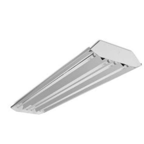 4 L Fluorescent Light Fixture 3 4 L T5 High Low Bay Fluorescent Light Fixture Garage Shop Curved Profile Ebay