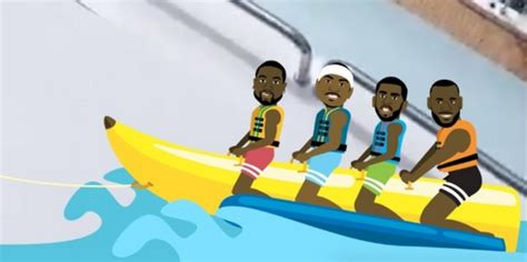 banana boat and lebron lebron james dwyane wade and chris paul resume their