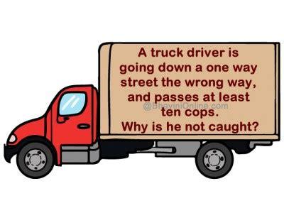 truck driver trick question archives bhavinionline
