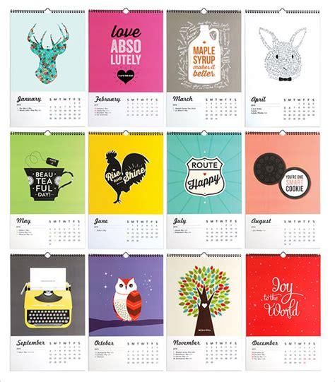 design sponge calendar 2015 14 253 tưởng tưởng tuyệt đẹp cho lịch năm mới 2015