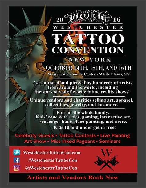 tattoo shops yonkers westchester convention october 14 16 steppin out