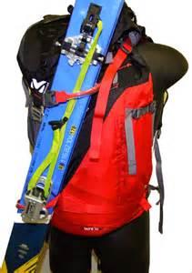 comment porter ses skis de rando sur un sac 224 dos