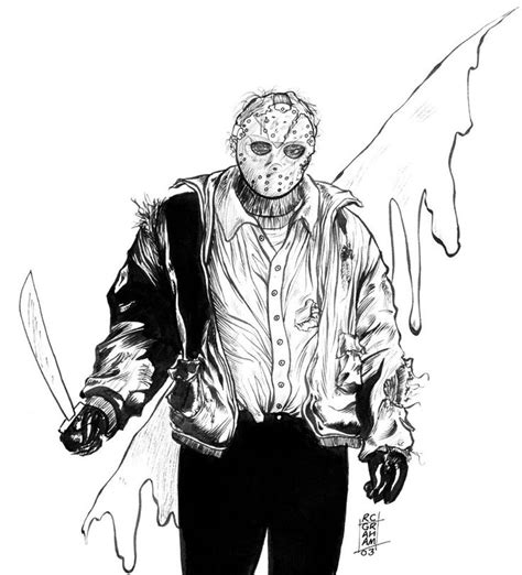 jason voorhees coloring pages online jason voorhees coloring pages pesquisa google jason